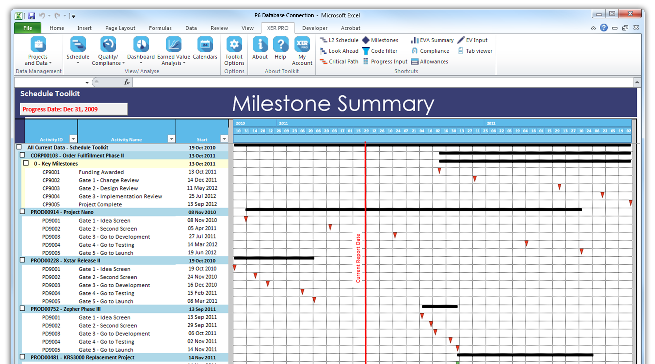 Milestone Summary Report